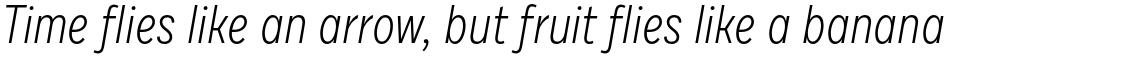 Draft F Light Italic