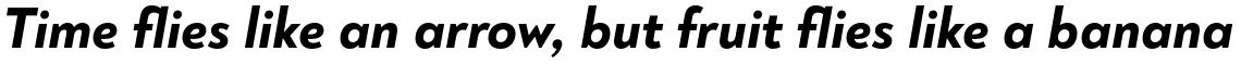 Noah Grotesque ExtraBold Italic